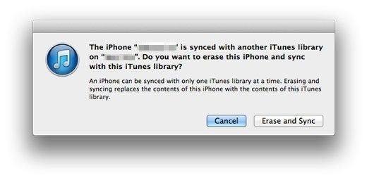 Sync IPhone With Another ITunes Library Without Erasing Data (2 Steps)