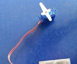 Arduino Control Servo Motor Using Ultrasonic Sensor