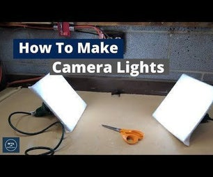 How to Make Camera Lights