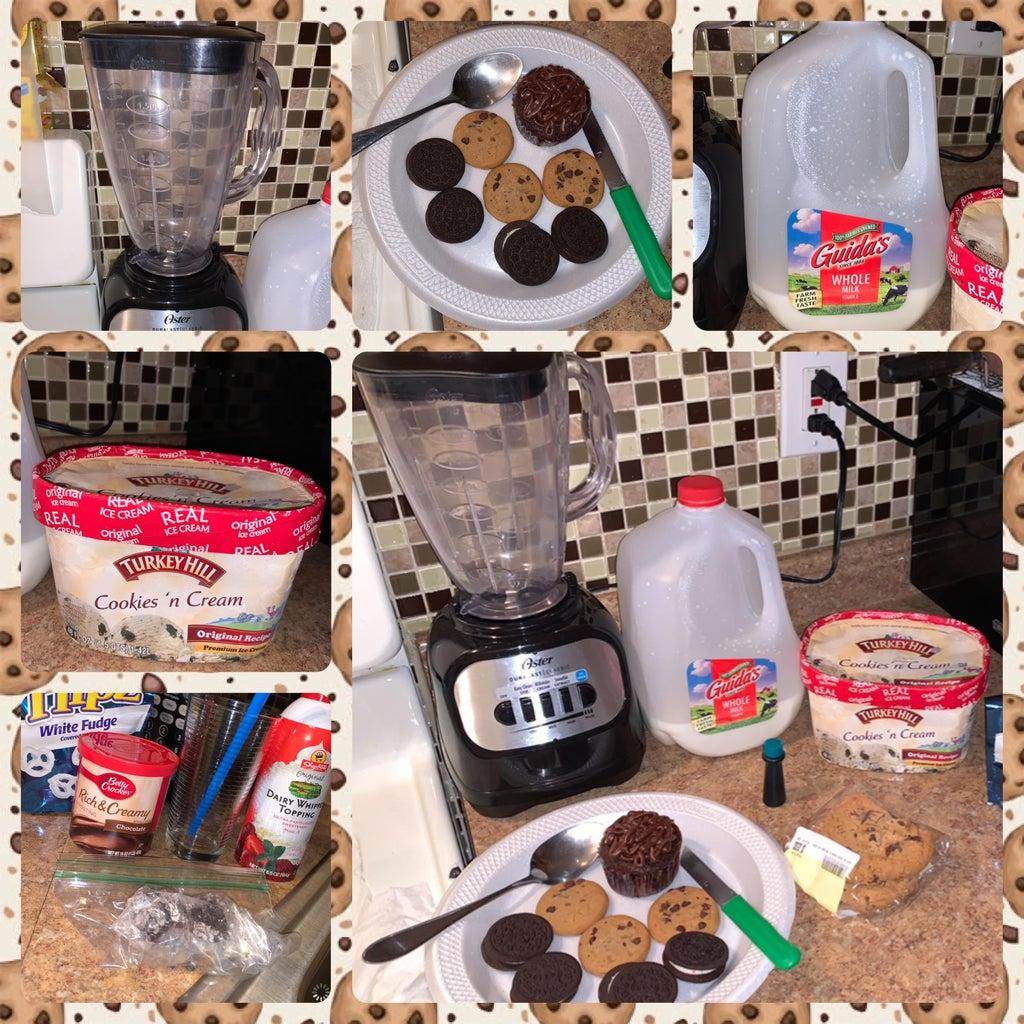 Preparing the Ingredients for the Milkshake