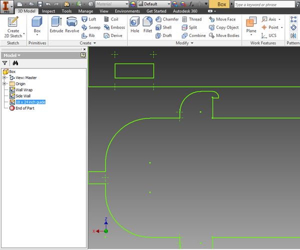 Workflow - Autodesk Inventor to Illustrator for Laser Cutting