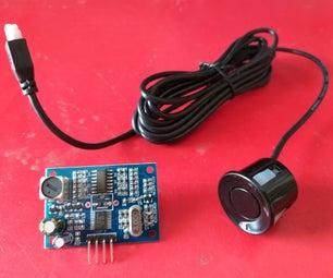 Waterproof Ultrasonic Sensor Module (JSN SR04T - 2.0) || Arduino