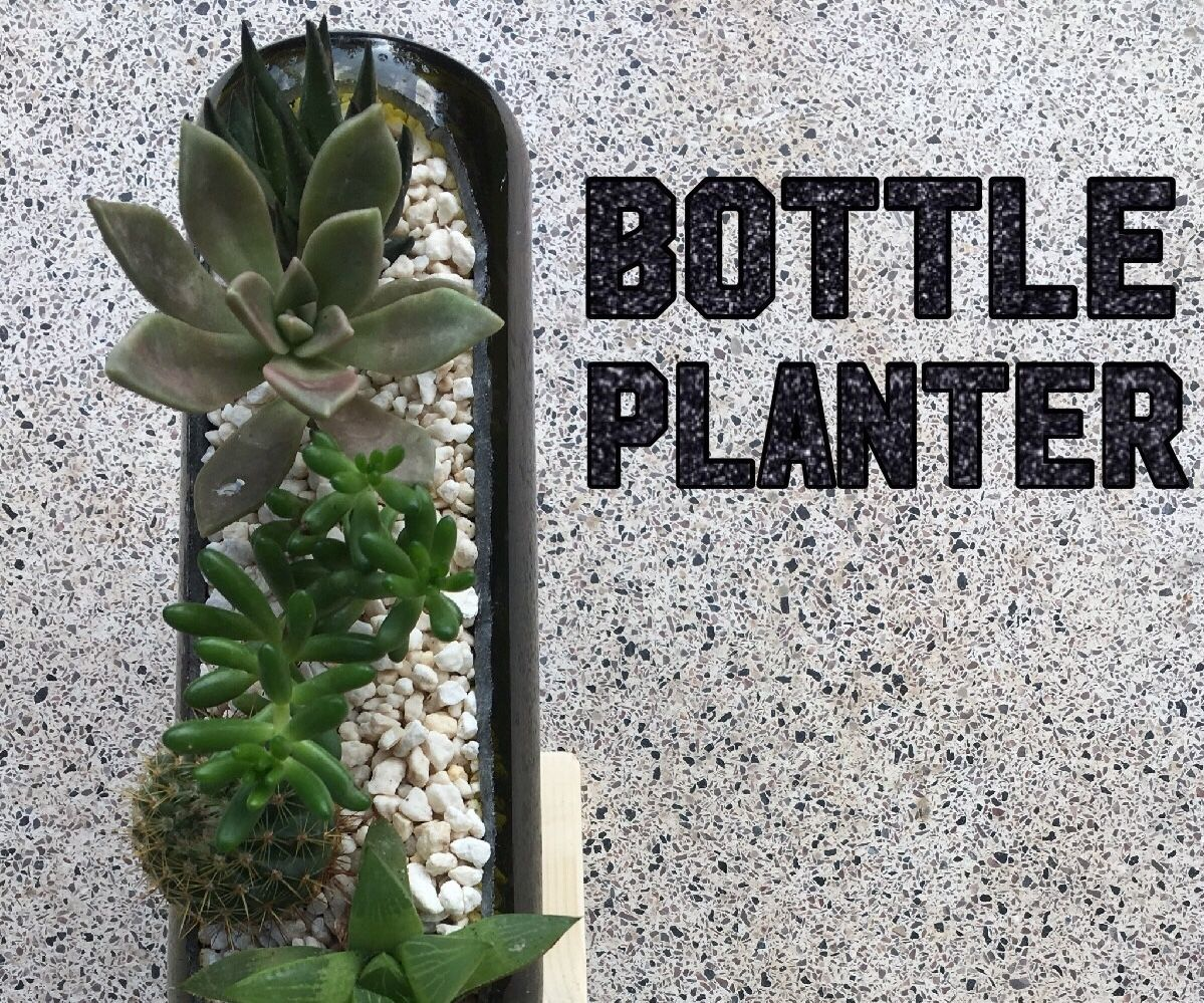 Bottle Planter