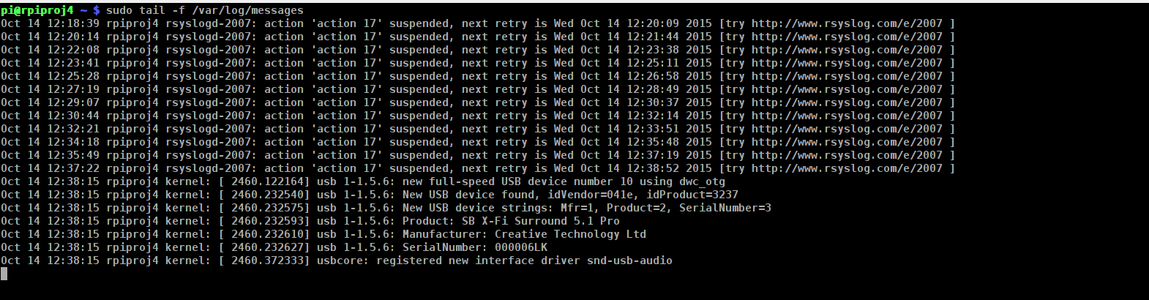 Install the USB Sound Card