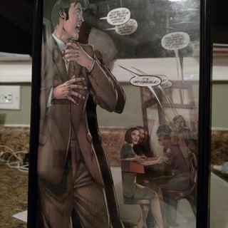 3D Comic Book Cover