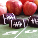 Fruit Bouquets' How to Make Chocolate Covered Football Apples