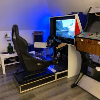 PS3 Racing Chair