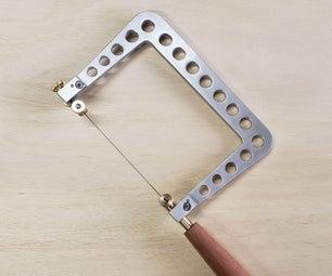 手工制作的珠宝商的锯