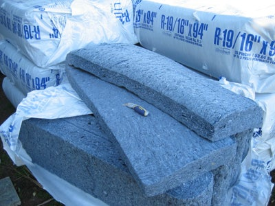 Installing Ultra Touch (recycled Cotton Denim) Insulation