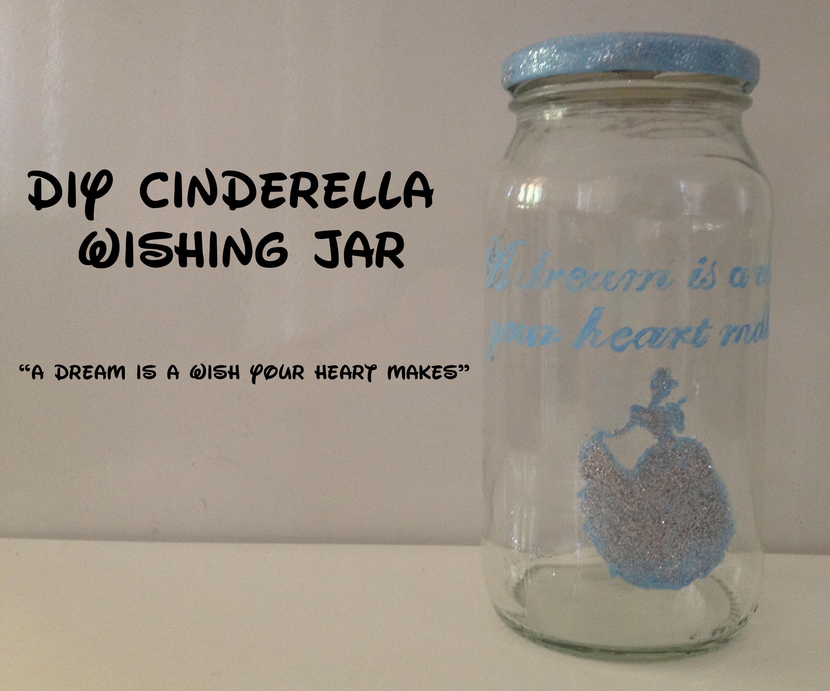 DIY Disney's Cinderella Wishing Jar