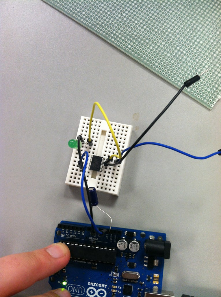 Create the Capacitive Touch Sensor