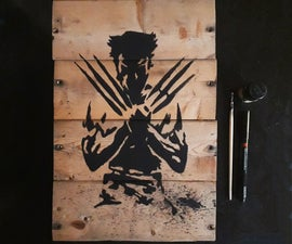 Wooden Wall Art | the Wolverine!
