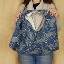How to make an Azuma Bukuro or Japanese market bag