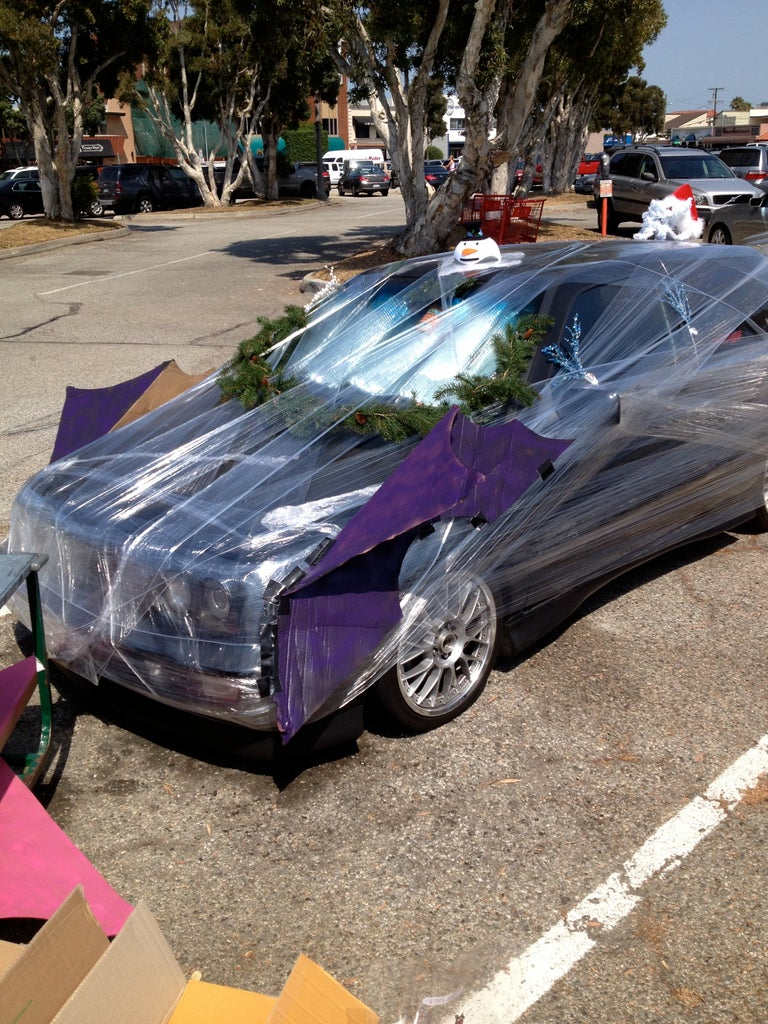 How to Pallet Wrap a Car for Your Friends (or Enemies)