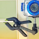 Collapsible Spring Clamp Camera Mount / Tripod
