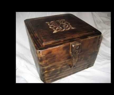Celtic rustic Keepsake box