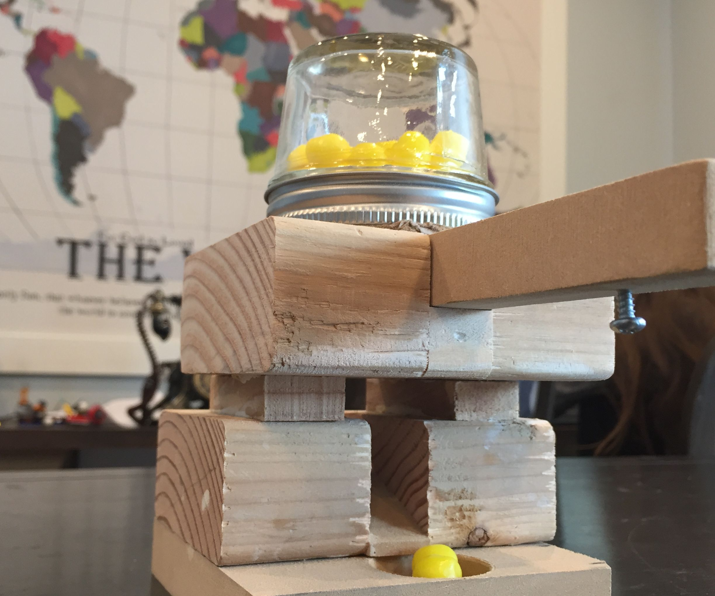 Easy-to-Make Candy Dispenser