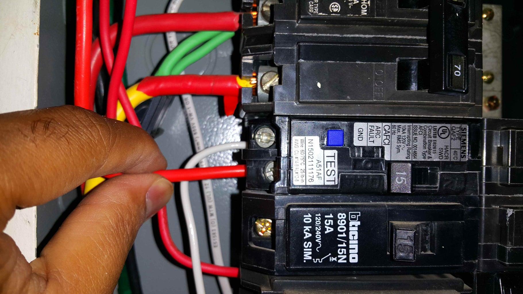 Replacing 2 Single Pole Breakers.