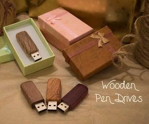 Wooden Pen Drives