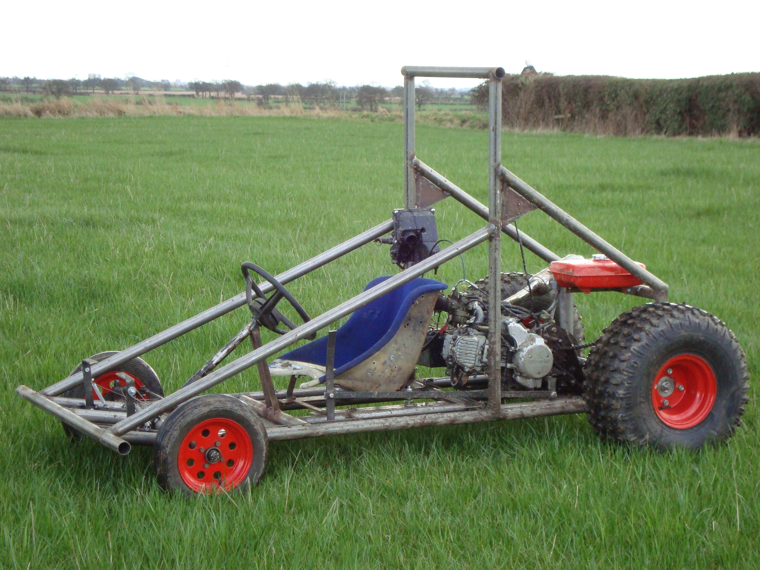 Build An Off Road Go Kart Instructables