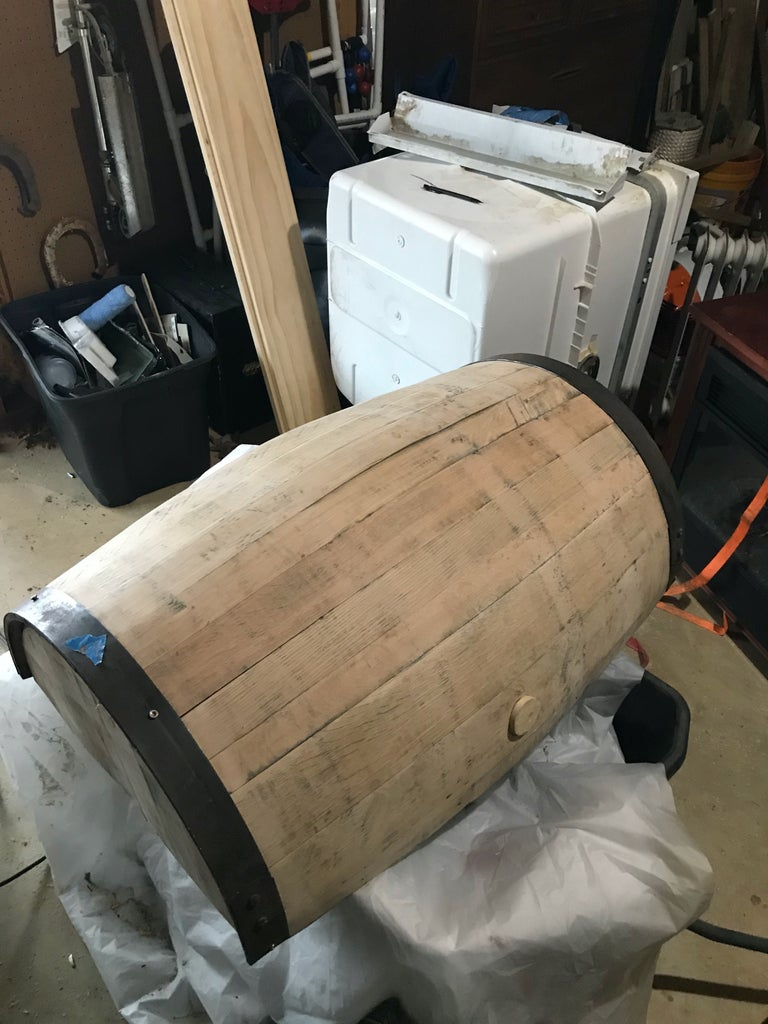 Stain Barrel and Paint Bands