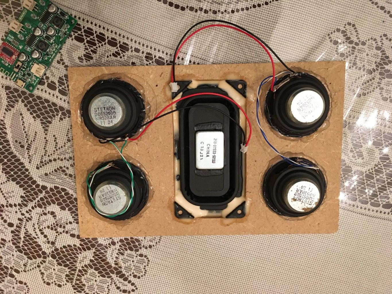 Start Assembling Speakers