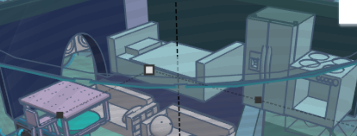 Step 6: Bedroom/Kitchen/Dining Room
