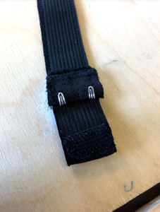 Sew the Hooks Right on Top of the Loop
