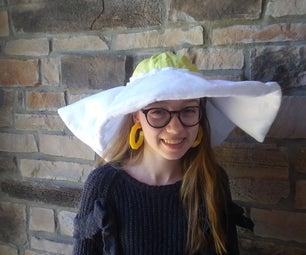 Sunny Side Up Egg Hat