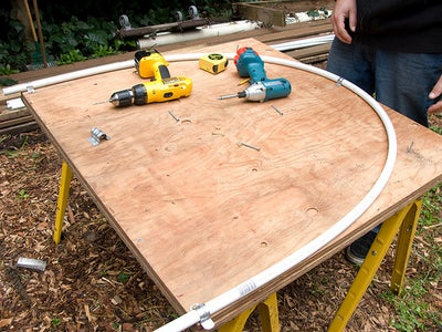 Cut the Plywood Ends