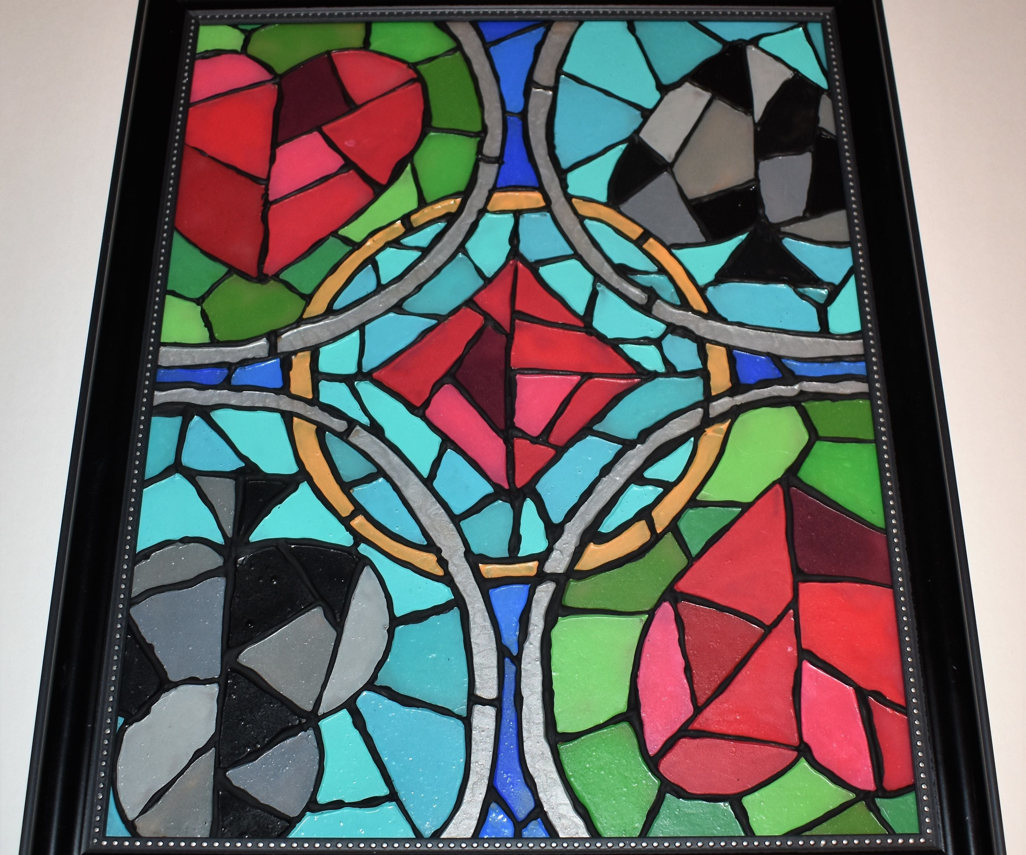 Easy Faux Stained Glass 8 Steps With Pictures Instructables
