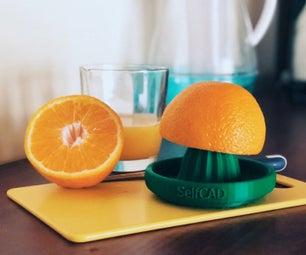 DIY 3D Printed Citrus Juicer