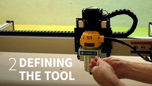 CAD to CAM - Defining the Tool