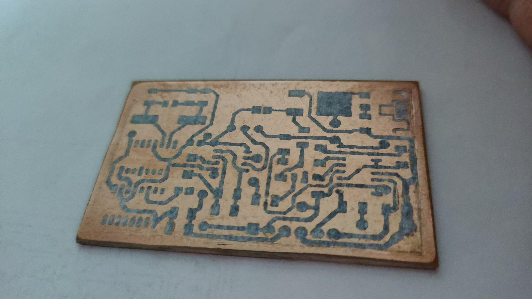 Fabricating the PCB