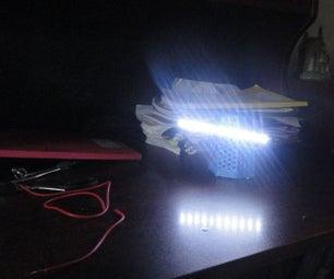 Switchless Sensor Based Cheap Flashlight