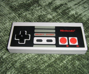 NES Controller MP3 Player