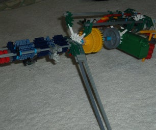 Knex Chain Machine Gun