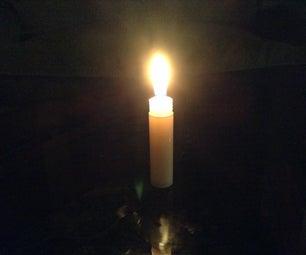 Survival Chapstick Candle