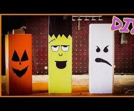 Halloween Character Decorations DIY