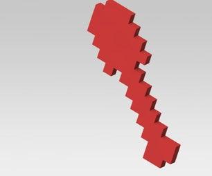 Minecraft Shovel on Makerbot!