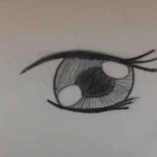 How to Draw Manga Eyes (two Ways)