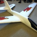 Simple Rc glider from readily available materials