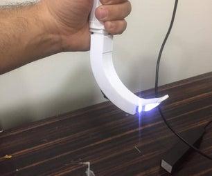 DIY 3d Printed Video Laryngoscope for Training