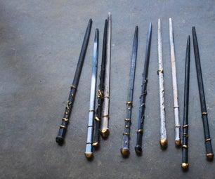 Make Wands With Chopsticks