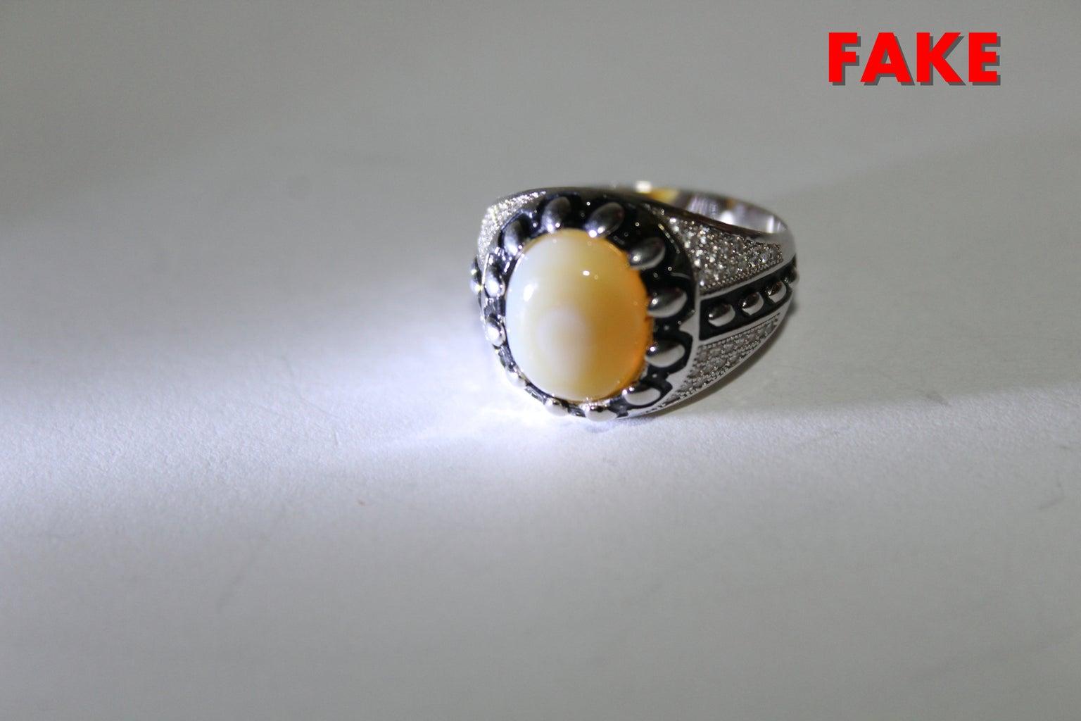 Fake (White Agate)