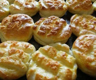 Hungarian Cheese Scones/Buns