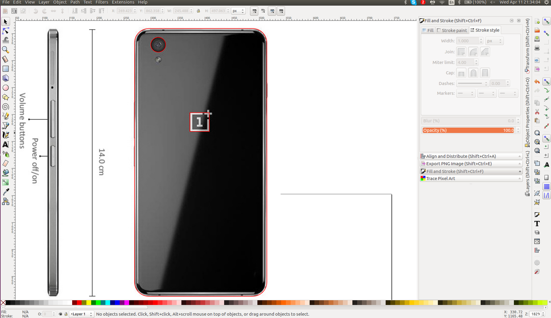 Design the Engraving: Model Your Phone