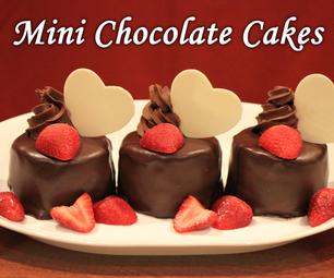 迷你巧克力蛋糕!