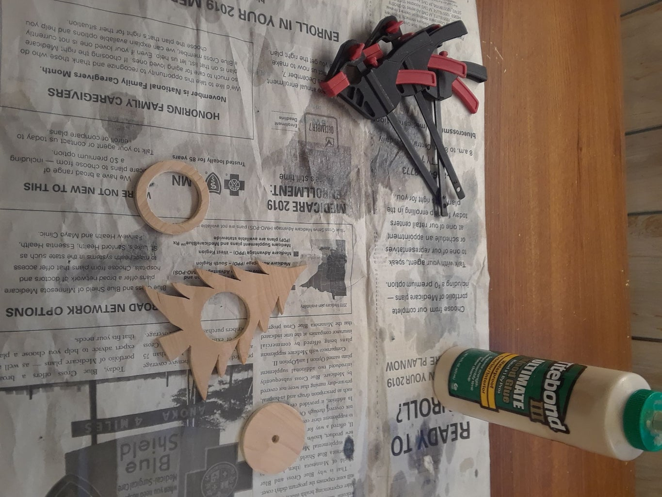 Gluing Everything Together