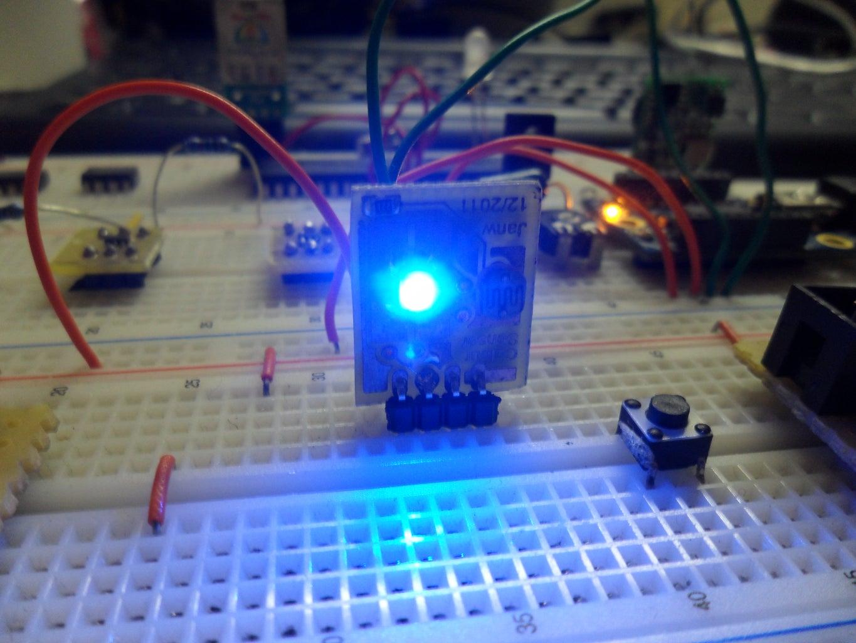 Build Your Own (at)tiny Colour Sensor.